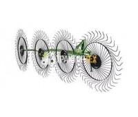 Грабли-ворошилки 4 колес Турция