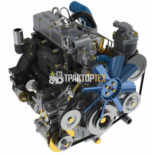 Двигатель MMZ-3LD-20 (МТЗ-320) 3 цилиндра, 35 л.с. с ЗИП