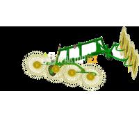 Грабли-ворошилки Турция 8 колес