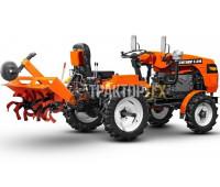 Мини-трактор Кентавр T-24 PRO (24 л. с., Toyokawa) + почвофреза 1.2 + кардан (Без ТСУ)